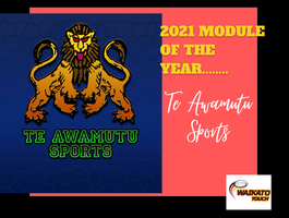 Te Awamutu Sports Touch Module of the year award
